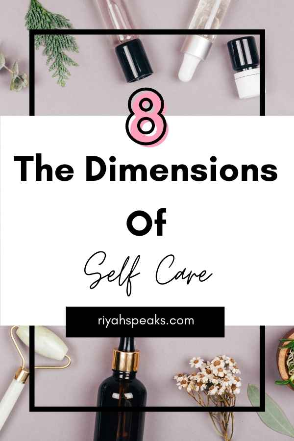 The 08 Dimensions Of Self Care