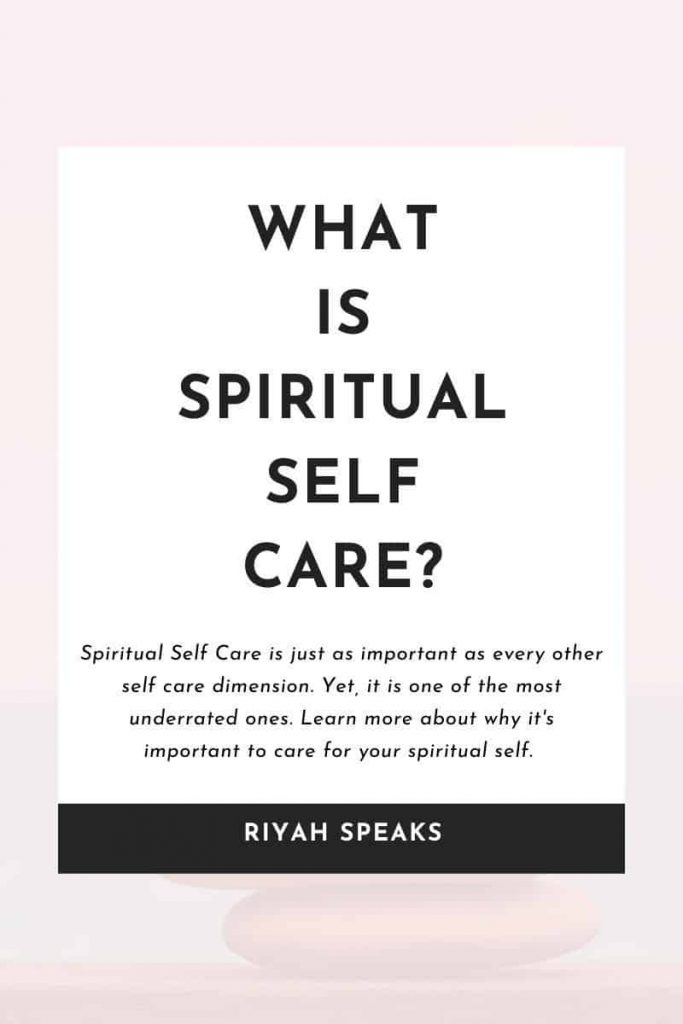 Pin this to learn What is Spiritual Self Care