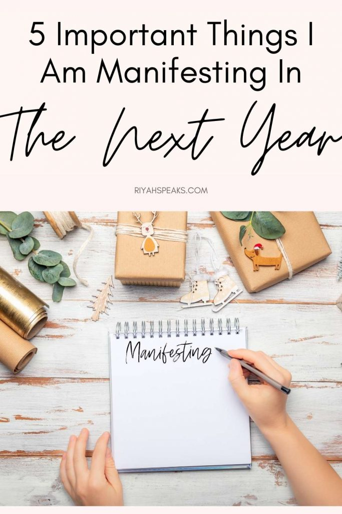 5 Positive Things I Will Manifesting For The Next Year: Birthday Edition