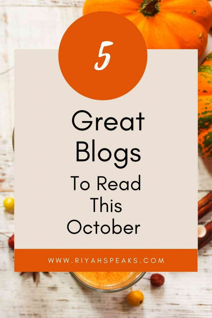 5 Great Blogs To Read This October   AD
